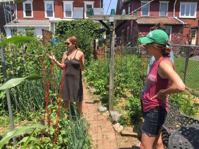 Denise and garden 2